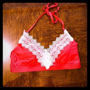Anthropologie bikini top